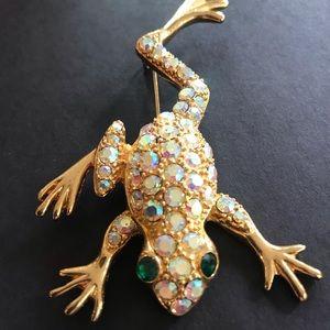 Vintage Frog Pin